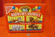 Barnumandrsquos Animal Crackers 1989 Limited Edition Tin Nabisco Container Empty