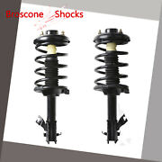 For 2002-2003 Nissan Maxima Front Pair Quick Complete Strut And Coil Spring