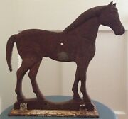Rare Dempster Long Tail Horse Cast Iron Windmill Weight