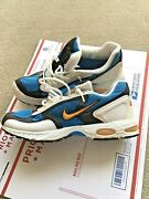 Rare Hard To Find Used Vintage 1998 Nike Zoom Air Running Blue White/black Sz 12