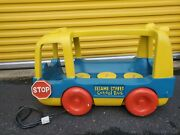 Tyco Sesame Street Bouncing School Bus Retail Display 3ft Automated Vintage
