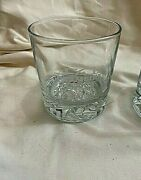 Drambuie Rusty Nail Whisky Liqueur Glass Crushed Ice Pattern Lowball Rocks