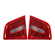 Pair Rear Tailgate Trunk Tail Light Lamp W/ Bulb Fit For Audi A6 S6 Rs6 09-11