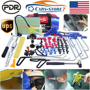 Paintless Dent Removal Push Rods Puller Lifter Hammer Pdr Tools Tail T Bar Kits