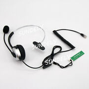 T100 Headset For Avaya 1408 1416 2410 4610 4620 4625 4630 5410 5420 9504 And 9508