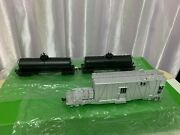 Overland Omi Brass Up Weed Sprayer With Tank Cars - Ho Scale