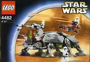 Star Wars Lego 4482 At-te 2003 Rare Boxed Black Box Complete All Figures Mint
