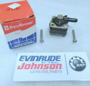B4a Johnson Evinrude Omc 397845 Fuel Pump Assembly Oem New Factory Boat Parts
