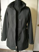 The T183 Apex Bionic Hooded Belted Jacket Coat Size M