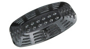Porcelain Grill Heat Plate Gas Steel Shield Replacement Mate Uniflame Garden Bbq