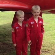 Red Arrows Kids Replica Pilot Flying Suit - Officially Licensed