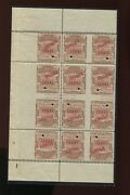 16t27s Western Union Telegraph Tete-beche Gutter Specimen Booklet Pane Of Stamps