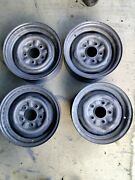Corvair Rims Used Cleaned Fits 65-69 13 Set Of 4 Sold Separately