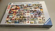 Ravensburger 3000 Piece Puzzle 99 Vw Campervan Moments New And Sealed