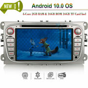 Android 10.0 Car Radio Dvd Stereo Gps Navi For Ford Mondeo Focus S/c-max Galaxy