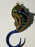 Nordstrom At Home Sea Horse Christmas Ornament Beautiful