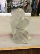 R.lalique Nude Figurine Autumn 20 Cm High Signin Good Condition For 1938.