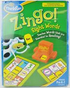 Thinkfun Zingo Sight Words Game For Grades Pre-k-1 2012 New Factory Sealed