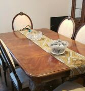 Drexel Heritage Full Dining Room Table Chairs And Hutch