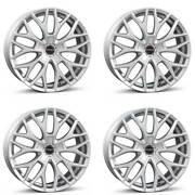 4 Borbet Wheels Dy 8.5x19 Et38 5x120 Sil For Cadillac Cts