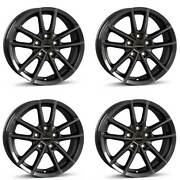 4 Borbet Wheels W 7.0x17 Et40 5x108 Ant For Land Rover Discovery