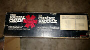 Old Ladder Style Fwd 2311-sm Car Snow Tire Chains By Champion Vintage With Box