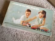 Rare Vintage Tootsietoy Electric Train Set W/ Transformer And Box - Complete