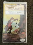Beatrix Potter The Tale Of Mr. Tod Collectors Edition 1996 Vhs Rare