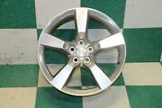 Notes10-12 Camaro Wheel 20x8 Front Five 5 Spoke Painted Q9k Silver Factory Oem