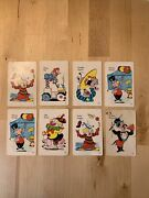Vintage 1959 Old Maid Card Game Circus Edition Ed-u-cards Incomplete 8 Cards