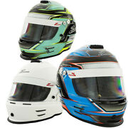 Zamp Kart Helmet Rz 42 Youth Sizes Cmr2016 Ideal For Go-kart Racing And Oval Race