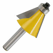 22.5 Degree Chamfer Router Bits Woodworking Bevel Edging Carving Milling Cutter