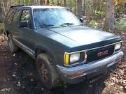 1992 Gmc S15 Jimmy 4x4 4.3l V6 At W/paperwork Salvage Parts Project Suv