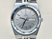 Very Rare Vintage 1970s Omega Seamaster Cosmic 2000 Ghost Bezel Watch