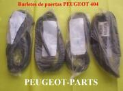 Peugeot 404 Door Seal Kit X 4 Units They Are Placed On The Door