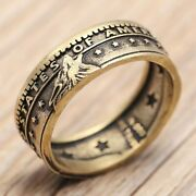 🔥2020 Hot Selling Coin Ring Silverplated Handcrafted Hand-made Coin Circle 🔥