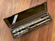 Preowned Miyazawa Flute - 300re W/sterling Head/gold Pl Lip/riser/interior/crown