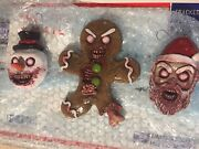 Krampus On The Mantle Neca Horror Xmas Collectible Ornaments And Chocolate Bar Lot