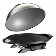 15+ Indoor/outdoor Electric Grill Counter Patio Nonstick Fat Fremove Slope