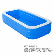 120 X 72 Garden Pool For Adult Thick Material Above Ground Pool Pool Set Spas