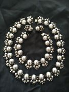 Stunning Vintage Pre-1948 925 Sterling Silver Taxco Gro Parure