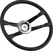 For Porsche 911 912 Leather Wrap Steering Wheel 400mm 1969-73 New