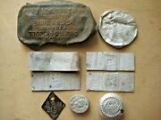 Wwii Ww2 Original Relics From A German Dugout On The Battlefield