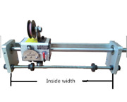 Wire Winder Machine Rolling Ring Traverse Drive Linear Guide Wheel Gp15c