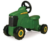 Ride On Tractor Toy Truck Care John Deere Toddler Outdoor Riding Vehicle Green