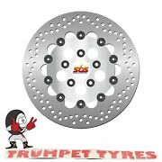Harley Flht Electra Glide 1340 1985 - 1986 Sbs Front Brake Disc Oe Quality 5140