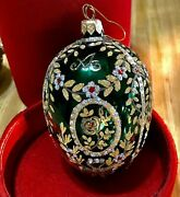 Beautiful Hand Painted Glass Christmas Ornaments Signed By The Painter