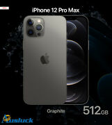 Apple Iphone 12 Pro Max 512gb Graphite Mgdg3x/a Model A2411 New Ausluck