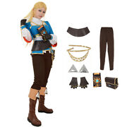 Botw Cosplay Princess Cosplay Costume Halloween Costumes For Wome Costume