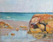 Horatio N.s. Bradford, Jr., East Setauket, Oil On Canvas, Signed And Dated L.r.